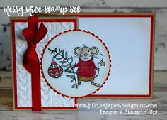 Julie Kettlewell - Stampin Up UK Independent Demonstrator - Order products 24/7: Merry Mice