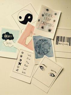 We Heart It - Inspiring images Easy Canvas Art, Small Canvas Art, Mini Canvas Art, Cool Art Drawings, Art Drawings Sketches, Colorful Drawings, Aesthetic Painting, Aesthetic Art, Arte Sketchbook