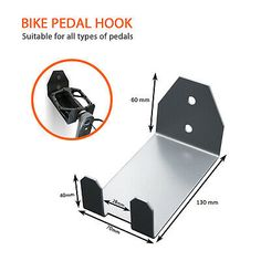 Bike Hanger Wall, Bicycle Hanger, Wall Mount Bike Rack, Bike Storage Rack, Garage Storage, Bike Storage Small Space, Small Space Interior Design, Bike Shed, Wall Mount Bracket