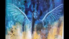 Abstract Angel Painting Painting Videos, Angel Art, Painted Rocks, Fantasy, Abstract, Tv, Artwork, Instagram, Summary