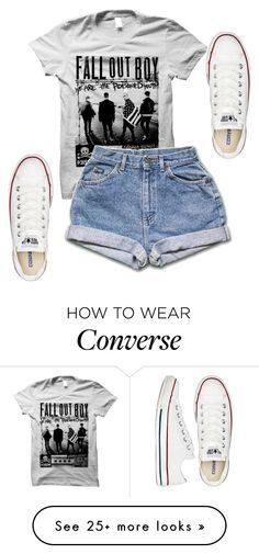 """Untitled #569"" by deima-835 on Polyvore featuring Converse"
