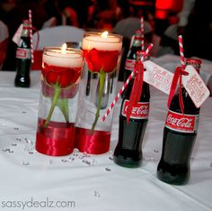 DIY Coca-Cola Bottle Wedding Favor Idea - Crafty Morning