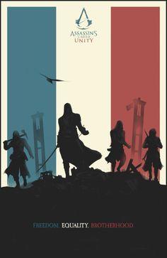 Assasin's Creed Unity Art