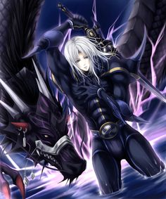 Cecil - Dark Knight (Final Fantasy IV)