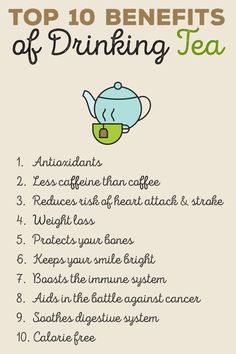 No matter what the season, tea can be a tasty beverage since it can be served iced or hot. Luckily, there are many benefits to consuming the drink.