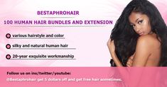 BestAphro Hair Brazilian Weave Bundles with Lace Closure Body Wave 4 bundles with Closure Deals 10 12 14 16 18 20 Inch Free Part Natural Black Mother's Day Promotion, Brazilian Weave, Free Hair, Lace Closure, 100 Human Hair, Body Wave, Hair Color, Waves, Hairstyle