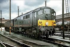 class 28 loco - Google Search Diesel Locomotive, Electric Locomotive, Steam Locomotive, Steam Trains Uk, Trans Siberian Railway, Railroad Pictures, Electric Train, Steam Railway, Abandoned Train
