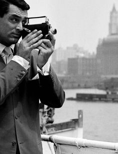 """Cary Grant """"Dude, wrong side of the camera. (Archie Leech was the master of reinvention.)"""" KB"""