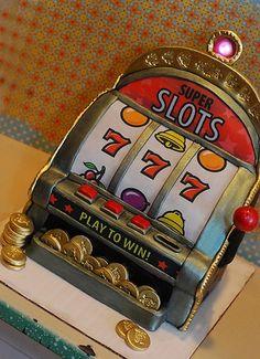 Poker Themed Cake — Poker Cakes / Las Vegas / Casino / Gambling Love this! Las Vegas, Vegas Casino, Best Casino, Casino Night, Poker Cake, Gambling Machines, Slot Machine Cake, Casino Theme, Casino Party