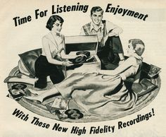Time for listening enjoyment with these new high fidelity recordings!