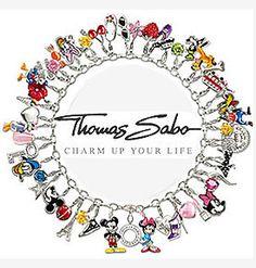 Thomas Sabo charm bracelet...love the Disney charms... Mickey Mouse, Minnie mouse, Donald Duck, goofy