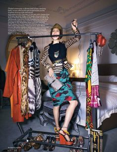 Vogue UK February 2012 Editorial - Tati Cotliar
