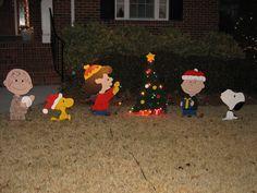 Christmas Wood Yard Art | Christmas Yard Art - by rooster @ LumberJocks.com ~ woodworking ...