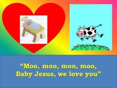 """Baby Jesus, We Love You,"" Preschool Christmas Song Childrens Christmas Songs, Preschool Christmas Songs, Christmas Skits, Christmas Program, Christmas Concert, Kids Christmas, Preschool Winter, Christmas Music, Christmas Crafts"