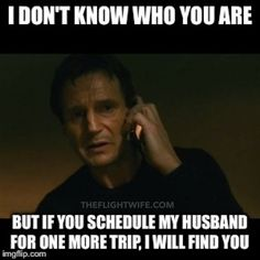 Pilot's wife summed up, 25 memes