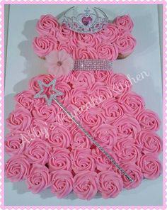 Princess Cupcake Dress Tutorial Can Use For All Disney Princess