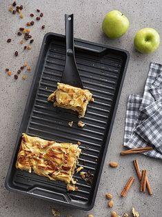 Empanadas, Grill Pan, Kitchen Decor, Grilling, Make It Yourself, Cooking, Le Creuset, Ideas, Almonds