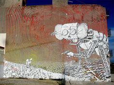 upperplayground BLU streetart mural 003 Recent murals by Italian muralist, BLU upper playground street art satire Mural italy illustrator Gr. Italy Street, Grafiti, Best Street Art, Street Art Graffiti, Land Art, Street Artists, Public Art, Urban Art, Art Blog