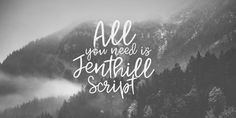 Jenthill - Webfont & Desktop font « MyFonts