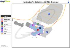 Indianapolis Indianapolis International IND Airport Terminal Map