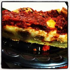 Mmm chicago style pizza!