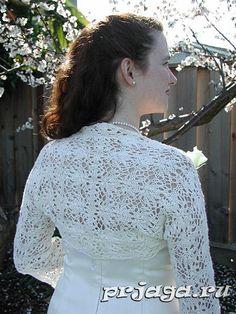 Вязание болеро спицами