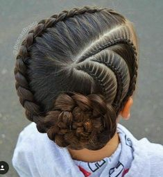 New braids for kids pony tail girl hairstyles ideas Pretty Hairstyles For School, Girls School Hairstyles, Kids Braided Hairstyles, Girl Haircuts, Little Girl Hairstyles, Trendy Hairstyles, Teenage Hairstyles, Beautiful Hairstyles, Hair Buns