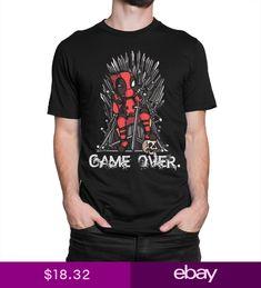 c9c6fbc69 Deadpool Game of Thrones Combo T-Shirt GOT Marvel Tee Mens Womens All Sizes