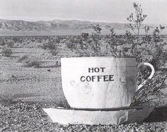 Edward Weston, Hot Coffee, Mojave Desert, 1937 on ArtStack Edward Weston, I Love Coffee, Hot Coffee, Coffee Break, Coffee Talk, Industrial Photographs, Henry Westons, Mojave Desert, Moving To California