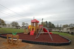 Another beautiful Playtopia Play Structure in Opelika, Alabama! Beautiful install by Don & the Spencer Creek Recreation crew!