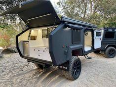 Bug Out Trailer, Off Road Camper Trailer, Trailer Build, Camper Trailers, Camping Trailer Diy, Rv Campers, Travel Trailers, Camping Hacks, Off Road Camping