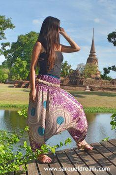 Harem Pants Purple Vibe