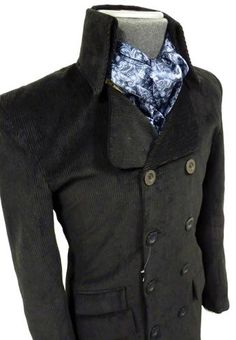new arrival 2f8c1 546da In Crowd MADCAP ENGLAND High Collar Cord Jacket