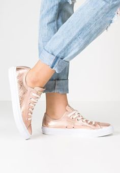 Converse CHUCK TAYLOR ALL STAR OX - Baskets basses - rose gold/white - ZALANDO.BE