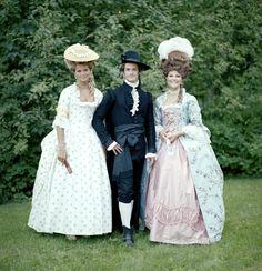 Madeleine, Carl Philip e Victoria.