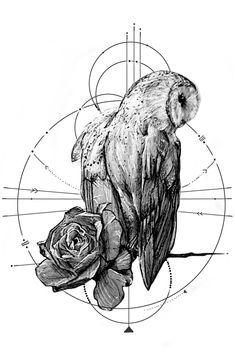 Owl Tattoo Drawings, Tatoo Art, Tattoo Sketches, Animal Drawings, Art Sketches, Art Drawings, Tattoo Owl, Owl Tattoos, Arm Tattoo