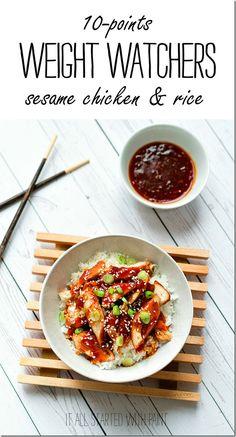 weight watchers recipe sesame chicken