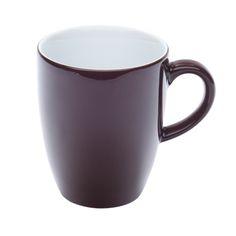 Kahla Porcelain Latte Mug - Chocolate; 280 ml