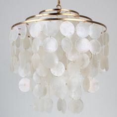 Young House Love Cascade Capiz Four Light Chandelier white_capiz_shells_with_gold_leaf
