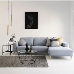 Luxe living room love with our NEW ARRIVAL Brody 2.5 seater + chaise in nana ice fabric, Hexagon coffee table in black, Manhattan low and high side tables in marble / black, all homewares by @ozdesignfurniture. 25% OFF EVERYTHING in-store and online must end Monday!! #newarrival #home #living #interiors #contemporary #style #design #styling #homedecor #homewares #interiordesign #luxe #gold #black #getthelook #tagforlikes #design #interiordesign #F4F #home
