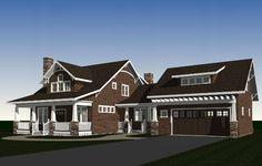 Bungalow House Plan - 3180