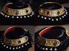 16th Century German Collar - as seen in Cranach paintings.by EvaJohannaStudios on Etsy. I have the grabby hands of want and misery for this collar soooo bad!!