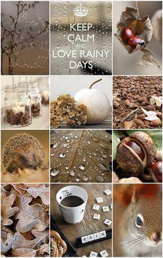Herbst Liebe Moddboard *** Autumn Love Moodboard *** bucketlist 10 dingen die ik deze herfst wil doen