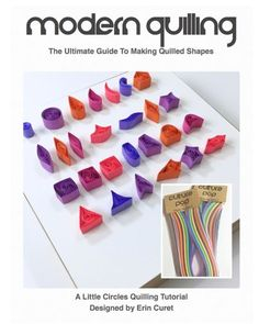 The Ultimate Guide To Making Quilled Shapes + Little Circles Sample Set