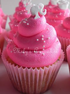 Barbie and cupcakes toppers by Mily'sCupcakes, via Flickr