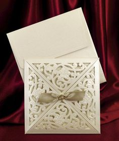 Свадебные пригласительные цвета айвори, красивые приглашения на свадьбу с печатью текста, фото 1