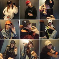 대세 걸그룹 '트와이스'의 상큼한 거울 셀카 사진이 공개돼 화제를 모았다.