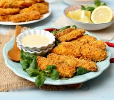 Parmesan crusted salmon fingers