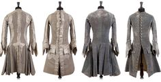 18th century inspired fashions | two costumes from the 18th century