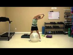 Total Stability Ball Workout